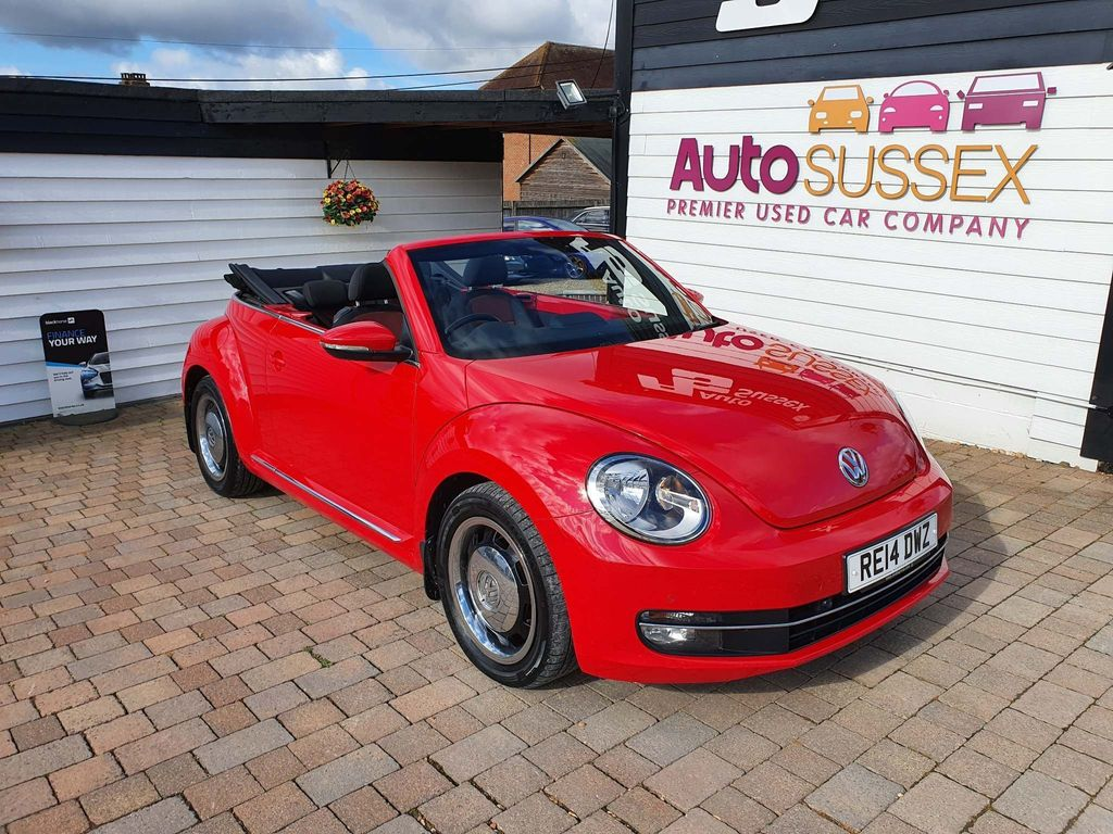 Volkswagen Beetle Convertible 1.6 TDI BlueMotion Tech Design Cabriolet DSG 2dr