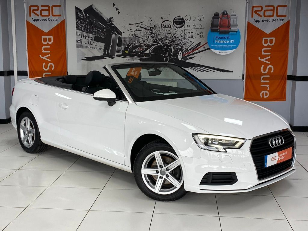 Audi A3 Cabriolet Convertible 2.0 TDI SE Cabriolet (s/s) 2dr