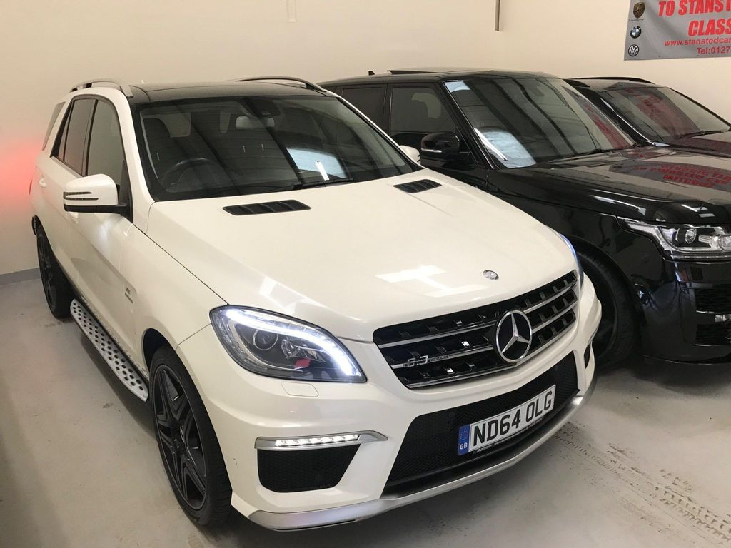 Mercedes-Benz M Class SUV 5.5 ML63 AMG Speedshift Plus 7G-Tronic 5dr