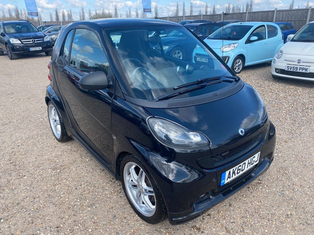 Smart fortwo Coupe 1.0 Brabus Xclusive 2dr