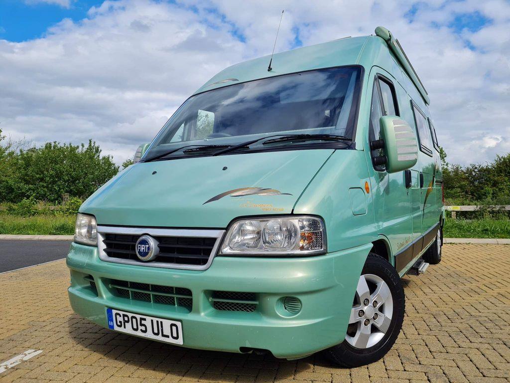IH Motorhomes Sorru now sold Campervan Fiat ducato 2.8 jtd