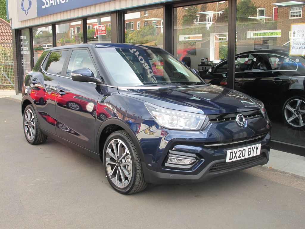 SsangYong Tivoli SUV 1.6P Ultimate (s/s) 5dr