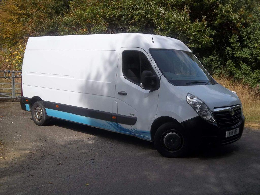 Vauxhall Movano Panel Van 2.3 CDTi 3500 FWD L3 H2 EU4 5dr