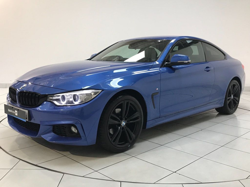 BMW 4 SERIES Coupe 2.0 420d M Sport xDrive 2dr