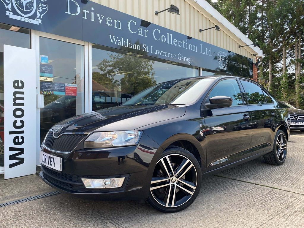 SKODA Rapid Hatchback 1.2 TSI Black Edition 5dr