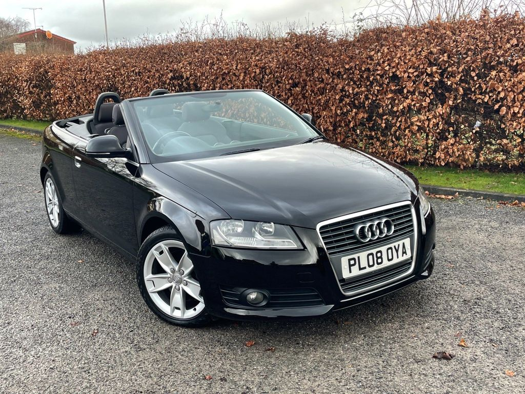 Audi A3 Cabriolet Convertible 2.0 TFSI Sport 2dr