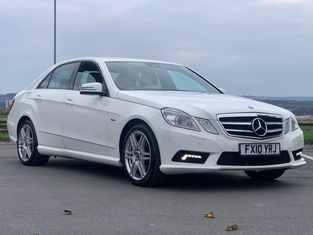 Mercedes-Benz E Class Saloon 1.8 E200 CGI BlueEFFICIENCY Sport 4dr