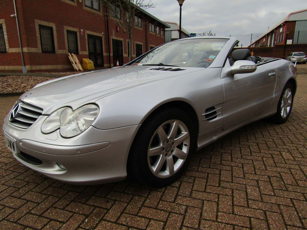 Mercedes-Benz S Class Unlisted SL 500 COVERTIBLE AUTO 2 DR R 230 SERIES
