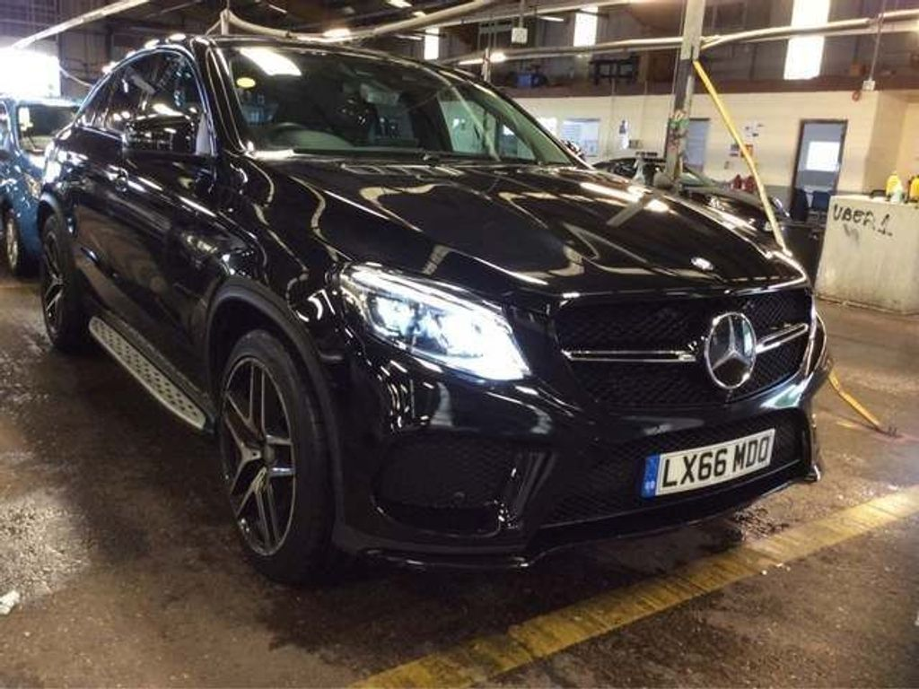 Mercedes-Benz GLE Class Coupe 3.0 GLE350d V6 AMG Line (Premium) G-Tronic 4MATIC (s/s) 5dr