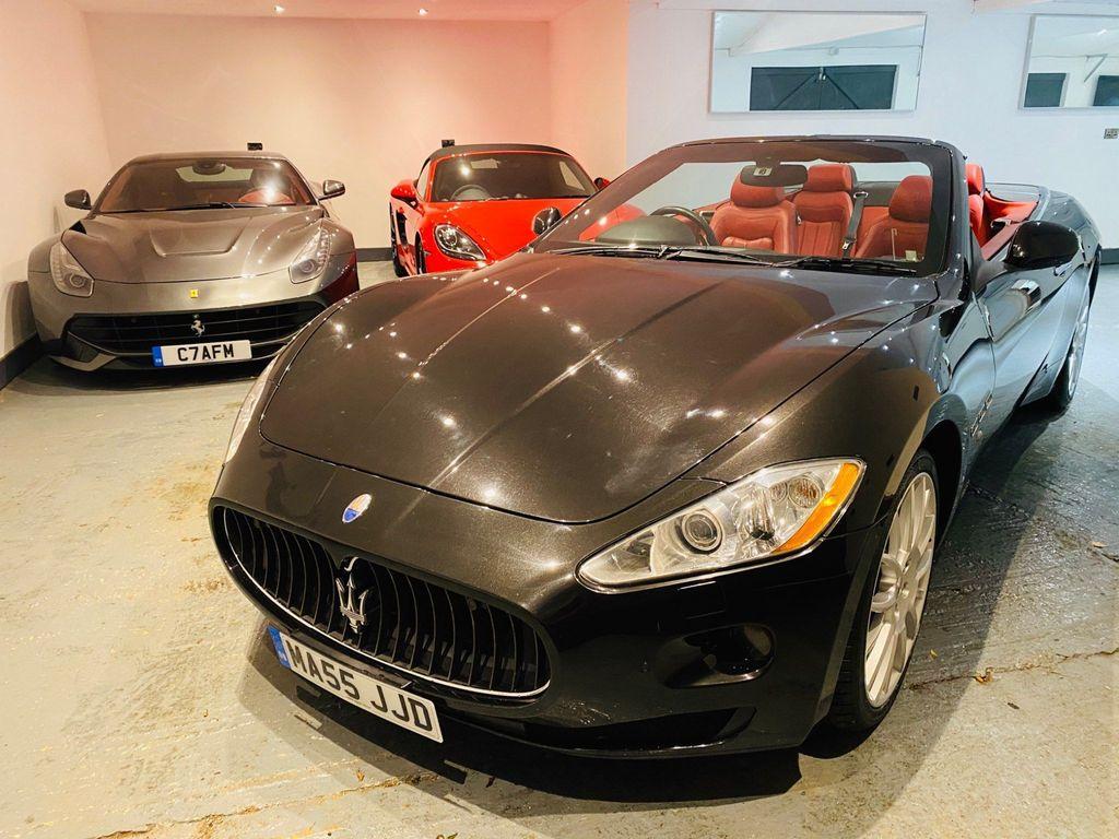 Maserati GranCabrio Convertible 4.7 V8 Auto 2dr EU4