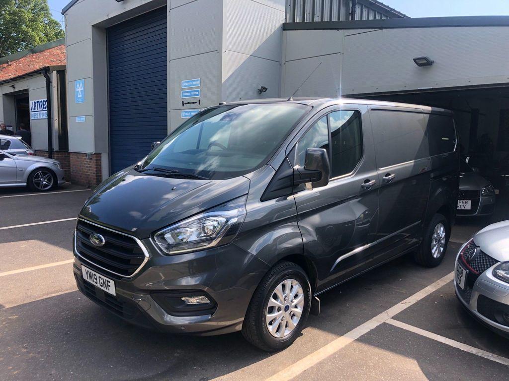Ford Transit Custom Panel Van 2.0 280 EcoBlue Limited Auto L1 H1 EU6 (s/s) 5dr