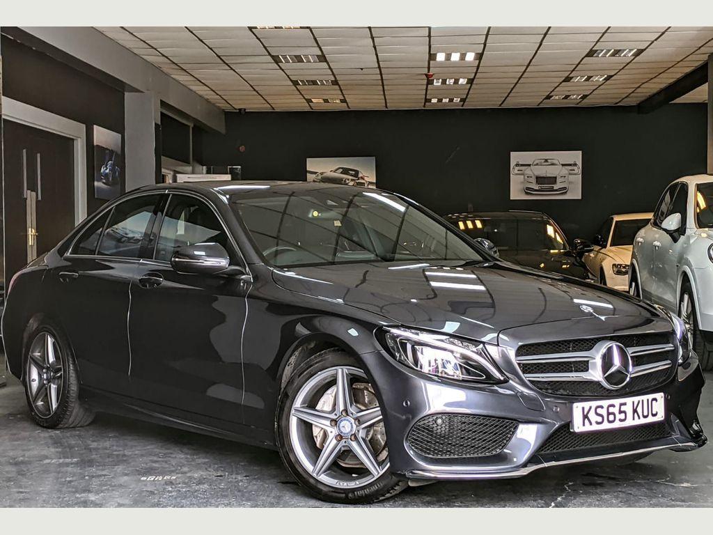 Mercedes-Benz C Class Saloon 2.1 C220d AMG Line (Premium Plus) 7G-Tronic+ (s/s) 4dr