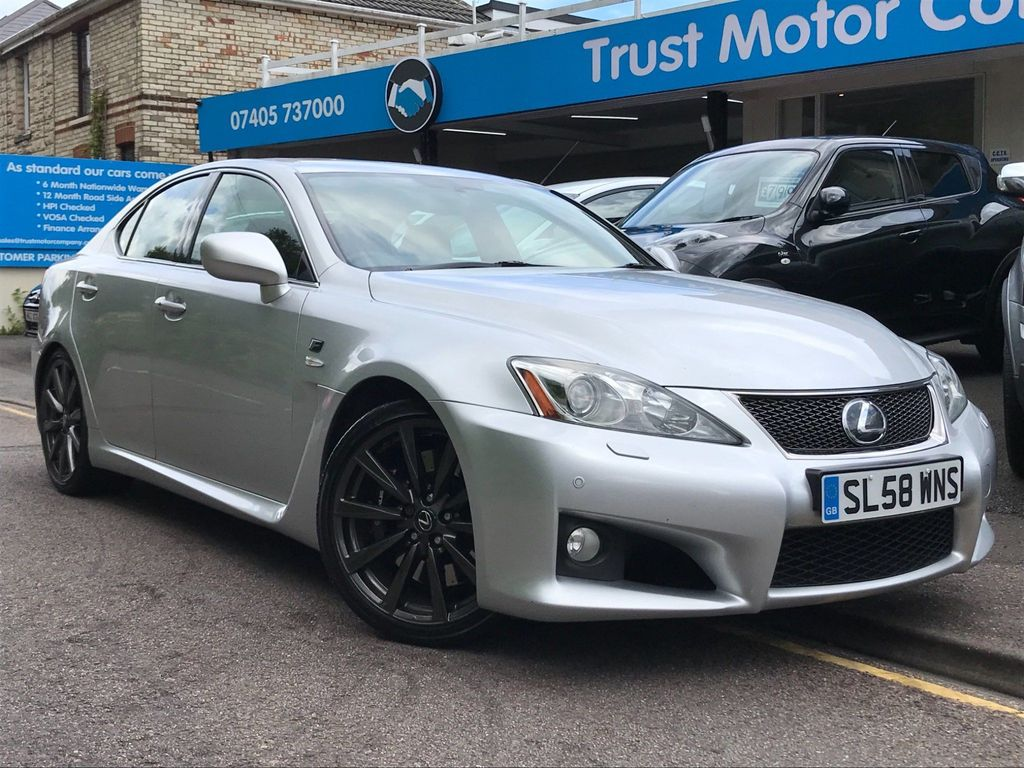 Lexus IS F Saloon 5.0 4dr (ACC, PCS)