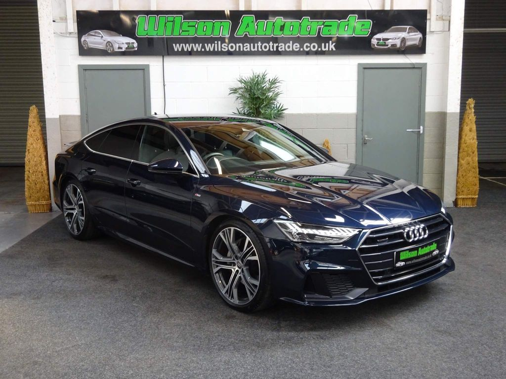 Audi A7 Hatchback 3.0 TDI V6 50 S line Sportback Tiptronic quattro (s/s) 5dr