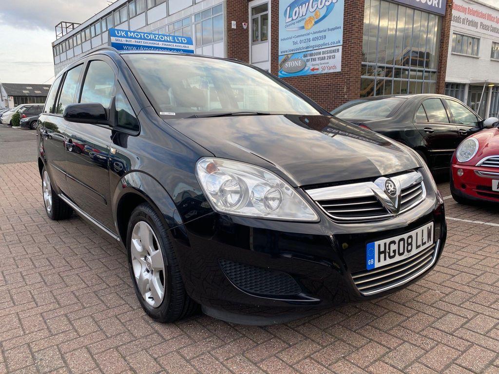 Vauxhall Zafira MPV 1.8 i 16v Exclusiv 5dr