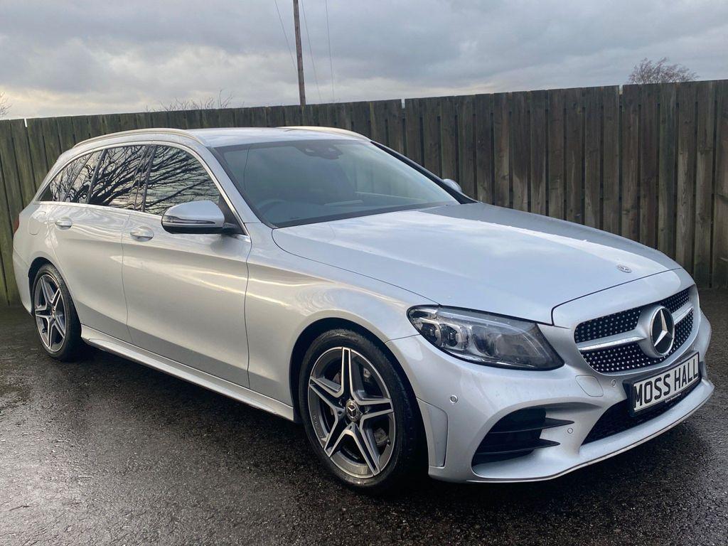 Mercedes-Benz C Class Estate 2.0 C220d AMG Line (Premium) G-Tronic+ (s/s) 5dr