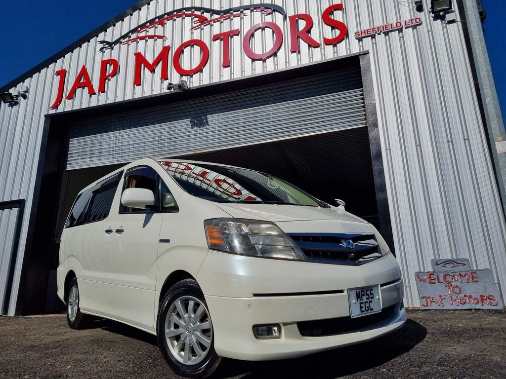 Toyota Alphard Unlisted