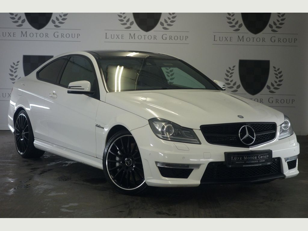 Mercedes-Benz C Class Coupe 6.3 C63 AMG MCT 2dr