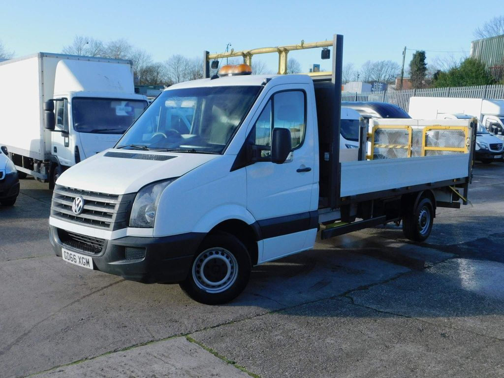 Volkswagen Crafter Dropside 2.0TDI 136PS LWB DROPSIDE & TAIL LIFT