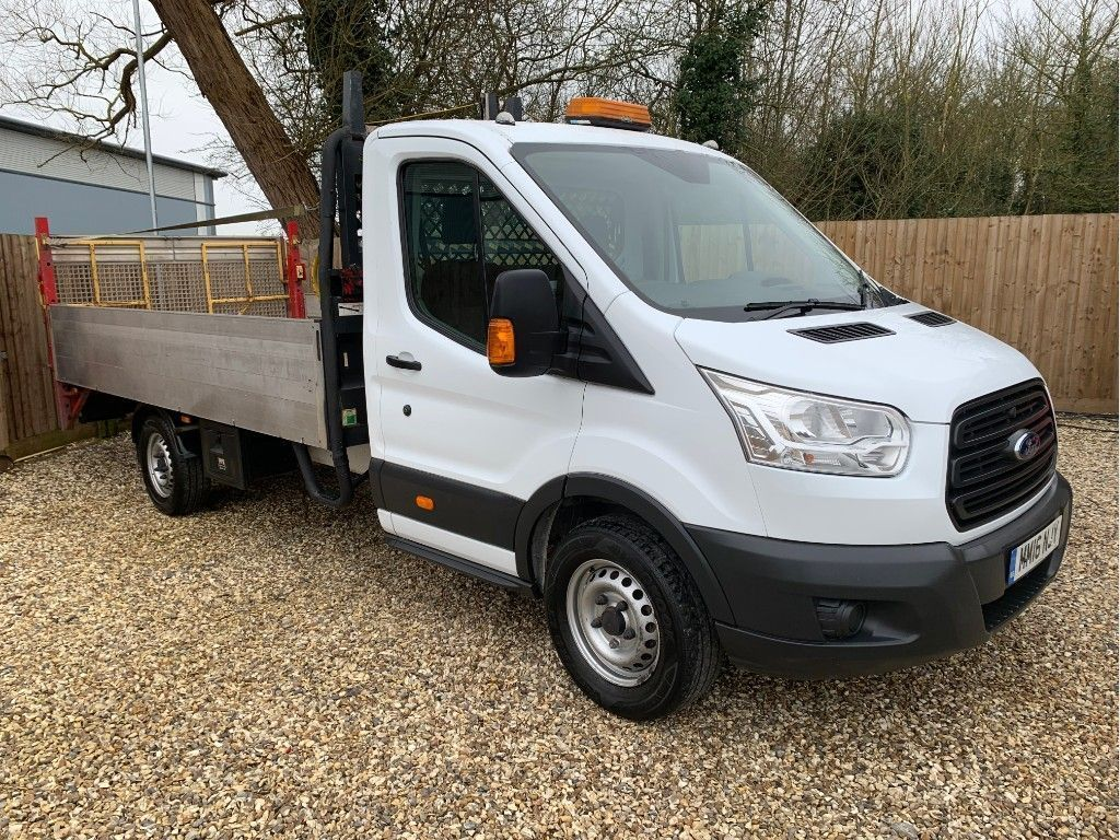 Ford Transit Dropside 2.2 TDCi 350 14ft DROPSIDE WITH TAIL RWD L4 H1 EU5 (DRW) (125 ps)