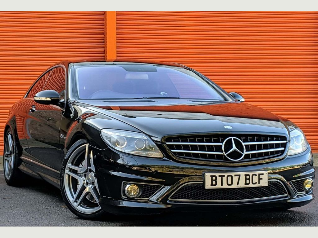 Mercedes-Benz CL Coupe 6.2 CL63 AMG 7G-Tronic 2dr