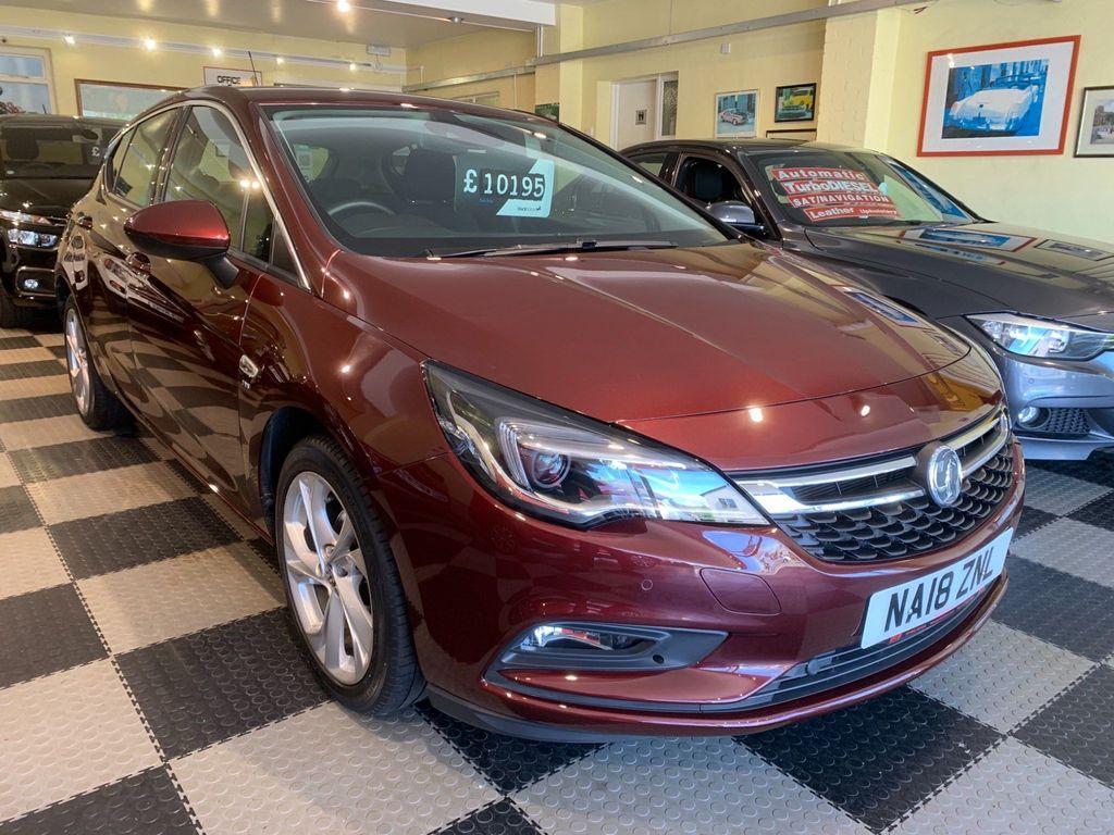 Vauxhall Astra Hatchback 1.4i Turbo SRi Auto (s/s) 5dr
