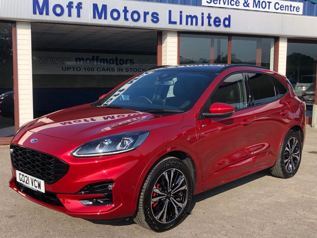 Ford Kuga SUV 2.5 Duratec PHEV 14.4kWh EcoBoost 14.4kWh ST-Line X CVT (s/s) 5dr