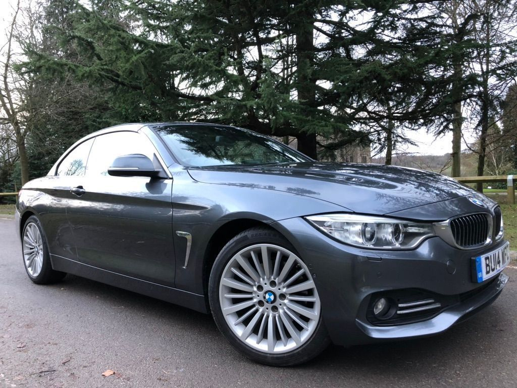 BMW 4 Series Convertible 2.0 420d Luxury 2dr