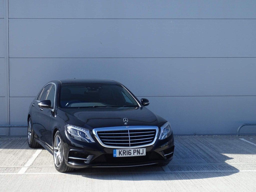 Mercedes-Benz S Class Saloon 3.0 S350d AMG Line (Executive) 9G-Tronic (s/s) 4dr