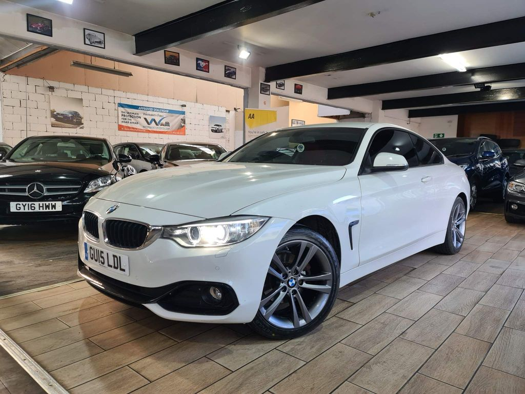 BMW 4 Series Coupe 2.0 420i Sport Auto xDrive 2dr