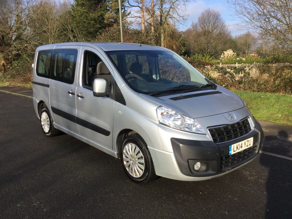 Peugeot Expert Tepee Other 2.0 HDi L1 Tepee Leisure Combi 5/6 Seater 4dr