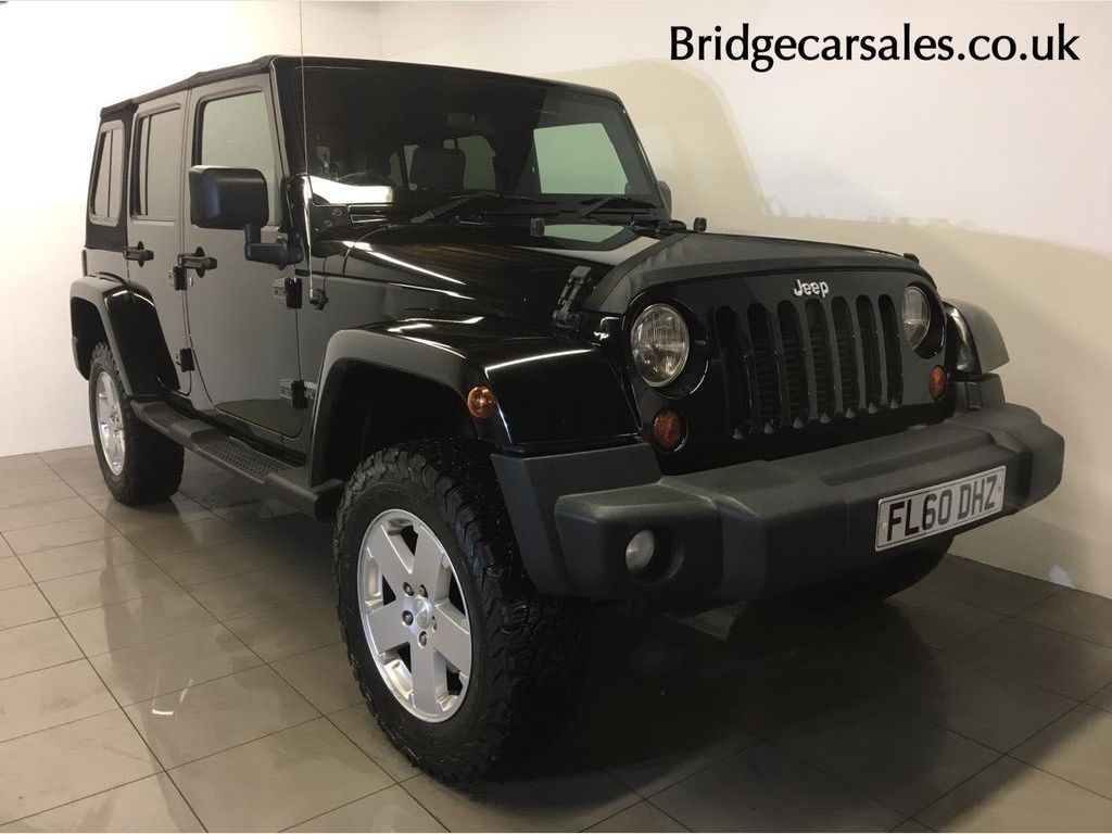 JEEP WRANGLER SUV 2.8 CRD Sport Unlimited Auto 4WD 4dr