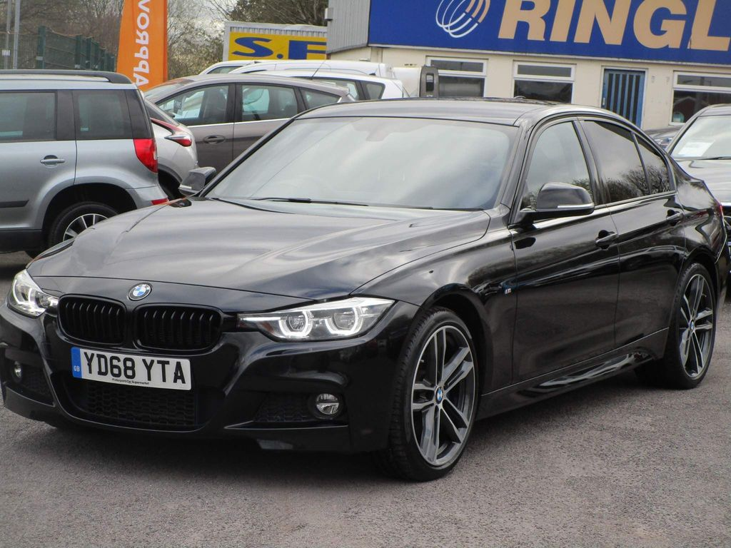 BMW 3 Series Saloon 2.0 320d BluePerformance M Sport Shadow Edition (s/s) 4dr