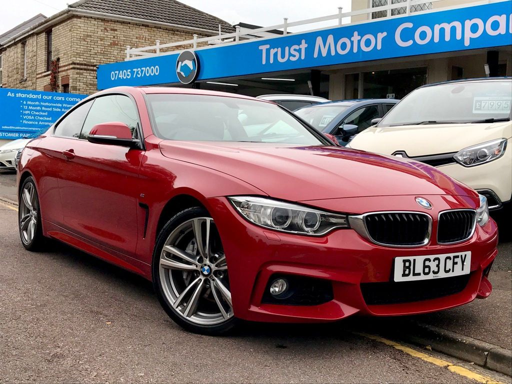 BMW 4 Series Coupe 3.0 435i M Sport Auto 2dr