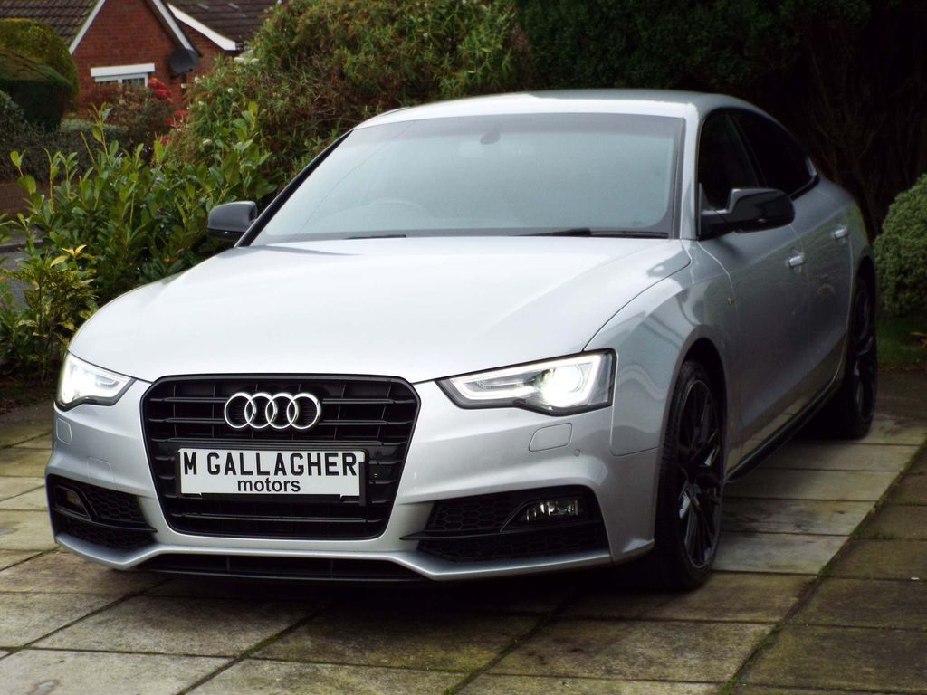 Audi A5 Hatchback 2.0 TDI Black Edition Plus Sportback (s/s) 5dr