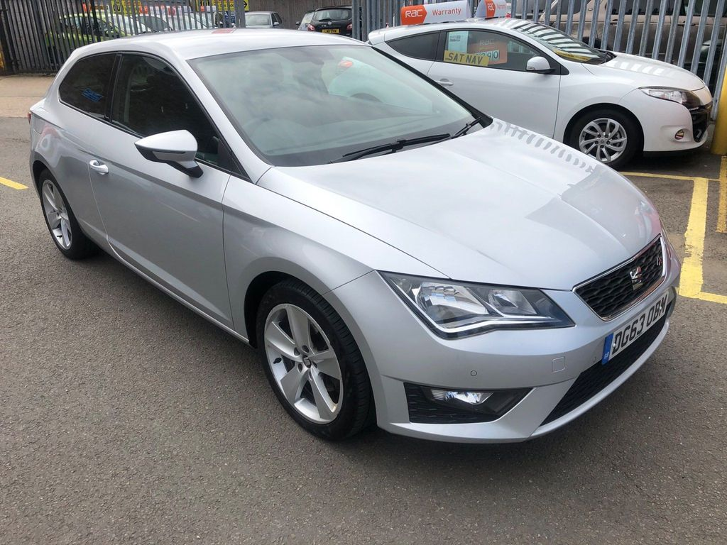 SEAT Leon Hatchback 2.0 TDI FR SportCoupe (s/s) 3dr