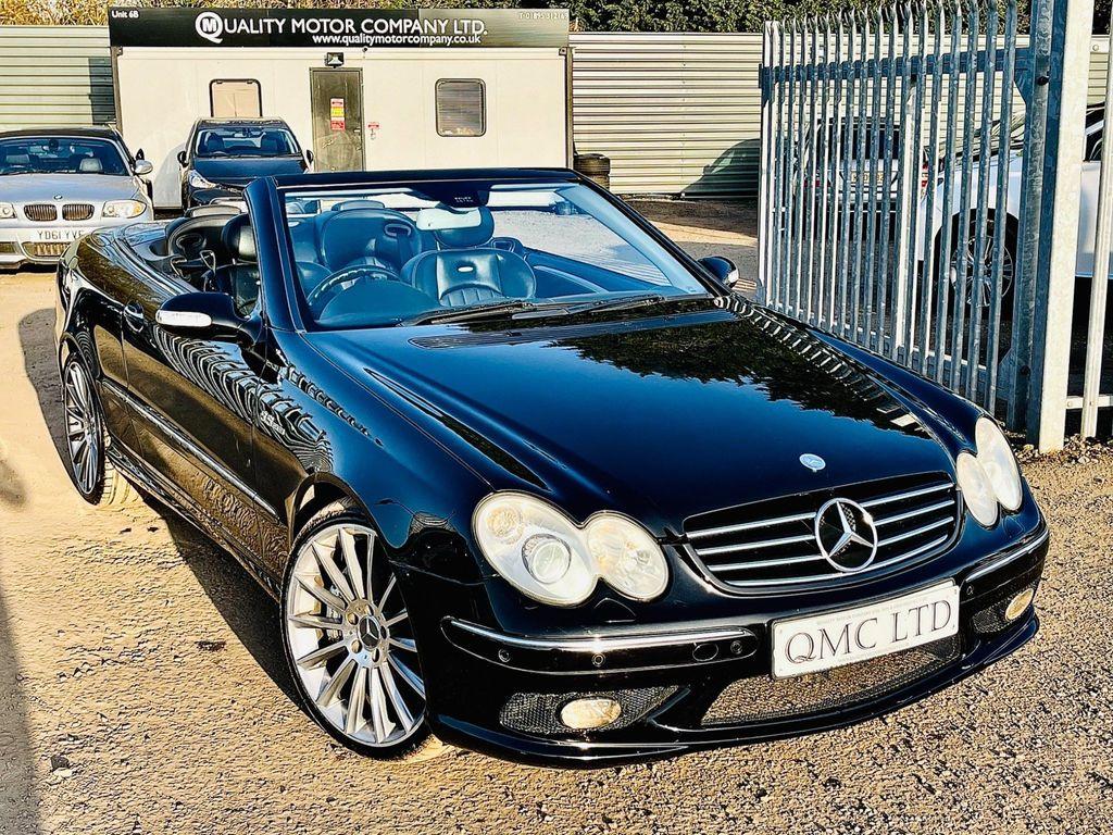 Mercedes-Benz CLK Convertible 5.4 CLK55 AMG Cabriolet 2dr