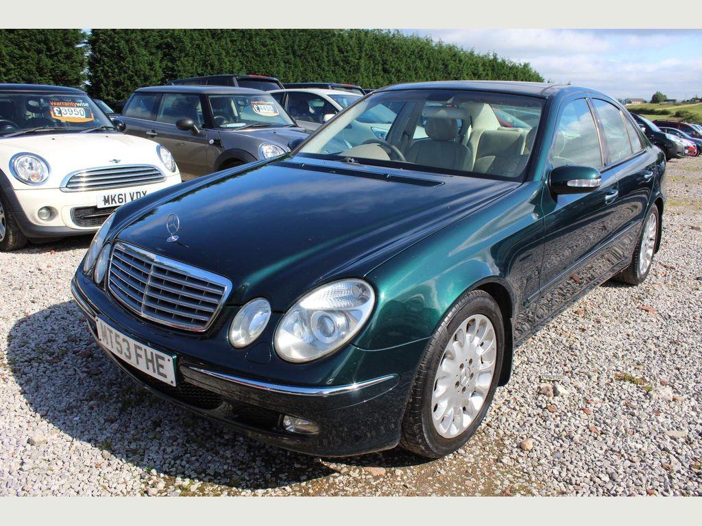 Mercedes-Benz E Class Saloon 2.7 E270 CDI Elegance 4dr