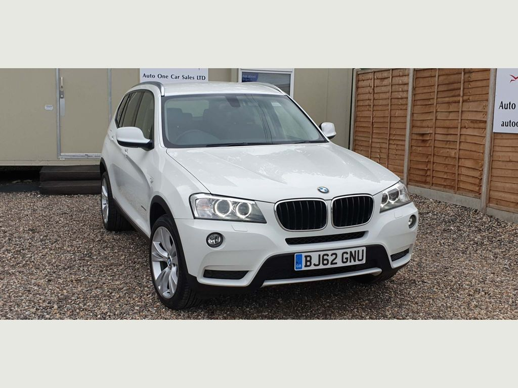 BMW X3 SUV 2.0 20d BluePerformance SE xDrive 5dr