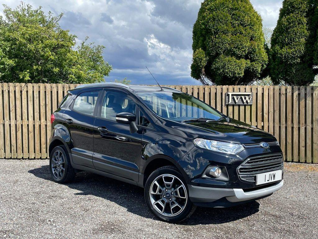 Ford EcoSport SUV 1.0 T EcoBoost Titanium (X Pack) 5dr