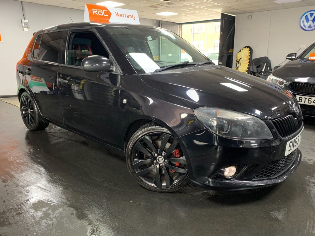 SKODA Fabia Hatchback 1.4 TSI vRS Auto Seq 5dr