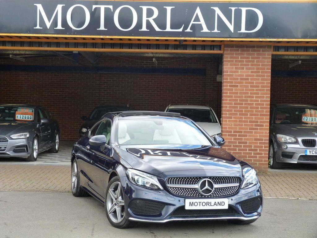 Mercedes-Benz C Class Coupe 2.0 C200 AMG Line (Premium) G-Tronic+ (s/s) 2dr