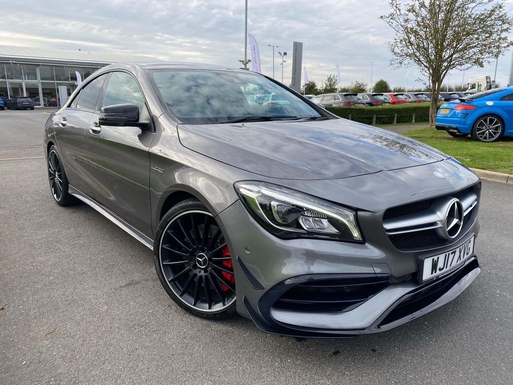 Mercedes-Benz CLA Class Coupe 2.0 CLA45 AMG SpdS DCT 4MATIC (s/s) 4dr