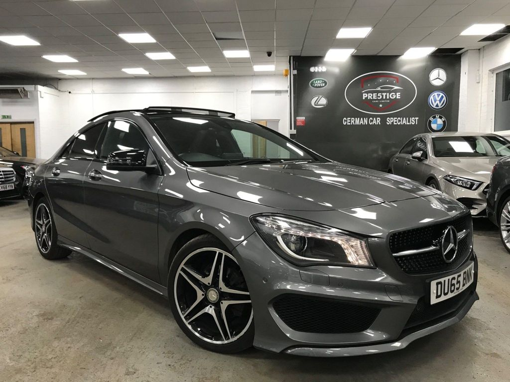 Mercedes-Benz CLA Class Coupe 1.6 CLA180 AMG Sport (s/s) 4dr