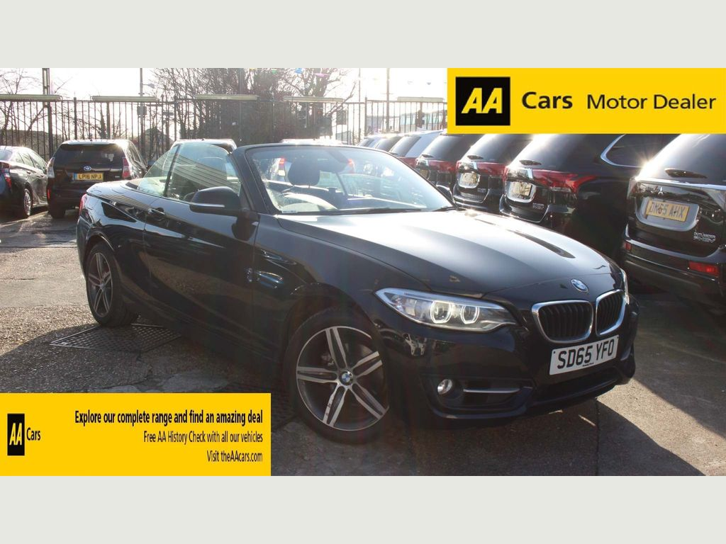 BMW 2 Series Convertible 1.5 218i Sport Auto (s/s) 2dr