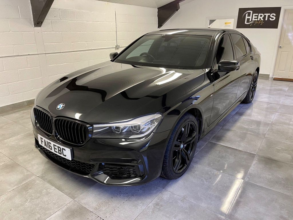 BMW 7 Series Saloon 3.0 730d M Sport Auto (s/s) 4dr
