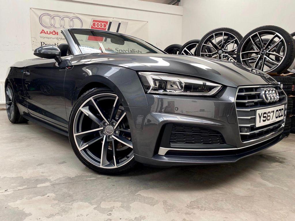 Audi A5 Cabriolet Convertible 2.0 TDI S line Cabriolet S Tronic quattro (s/s) 2dr