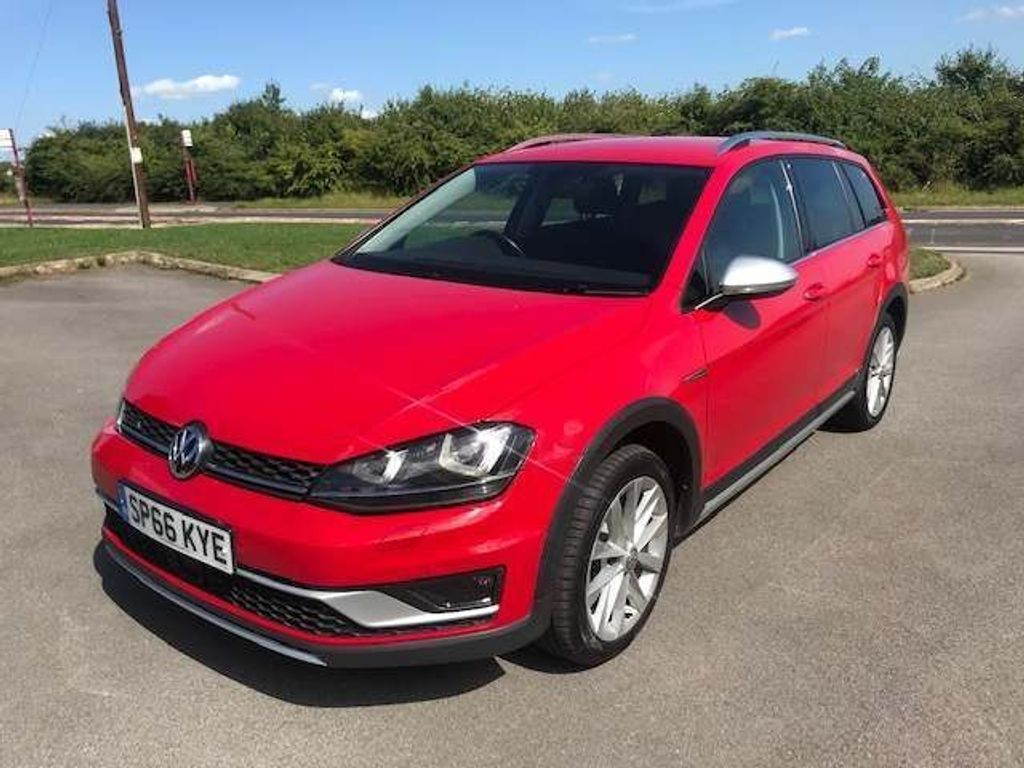 Volkswagen Golf Estate 2.0 TDI BlueMotion Tech Alltrack DSG 4MOTION (s/s) 5dr