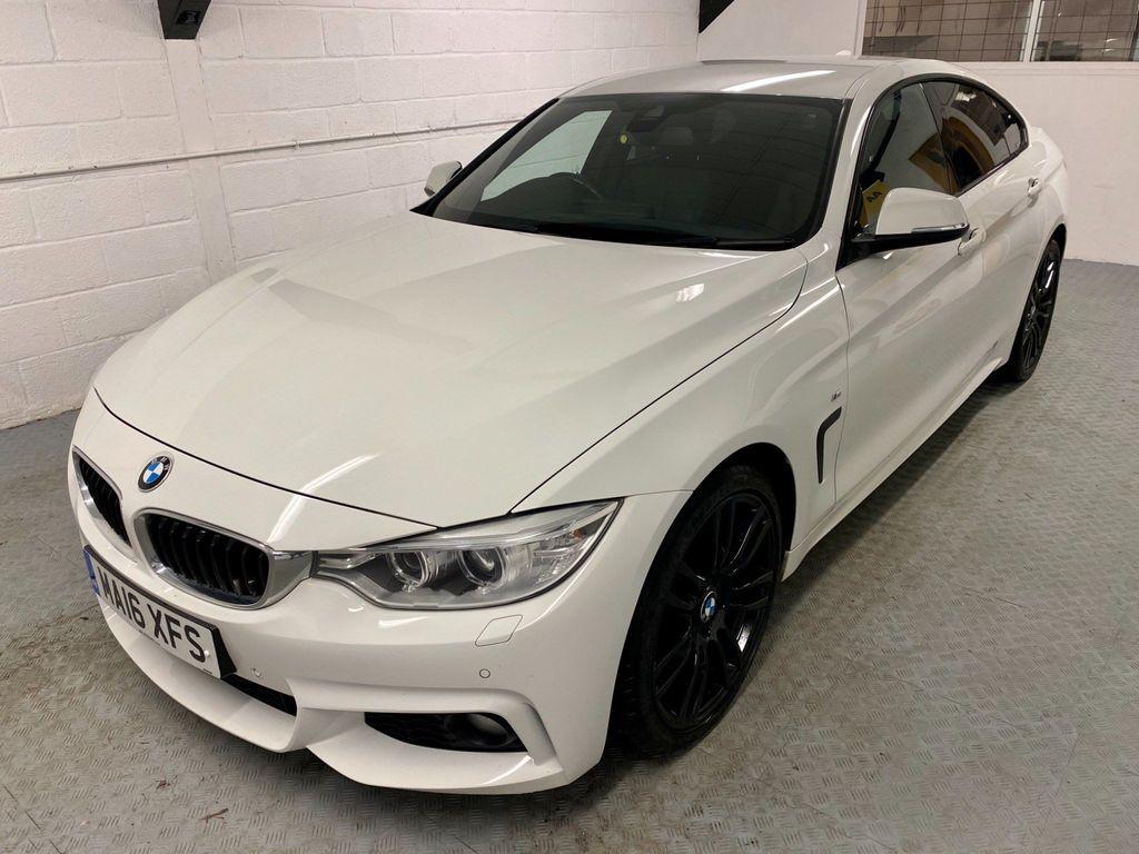 BMW 4 Series Gran Coupe Saloon 2.0 420d M Sport Gran Coupe Auto (s/s) 5dr
