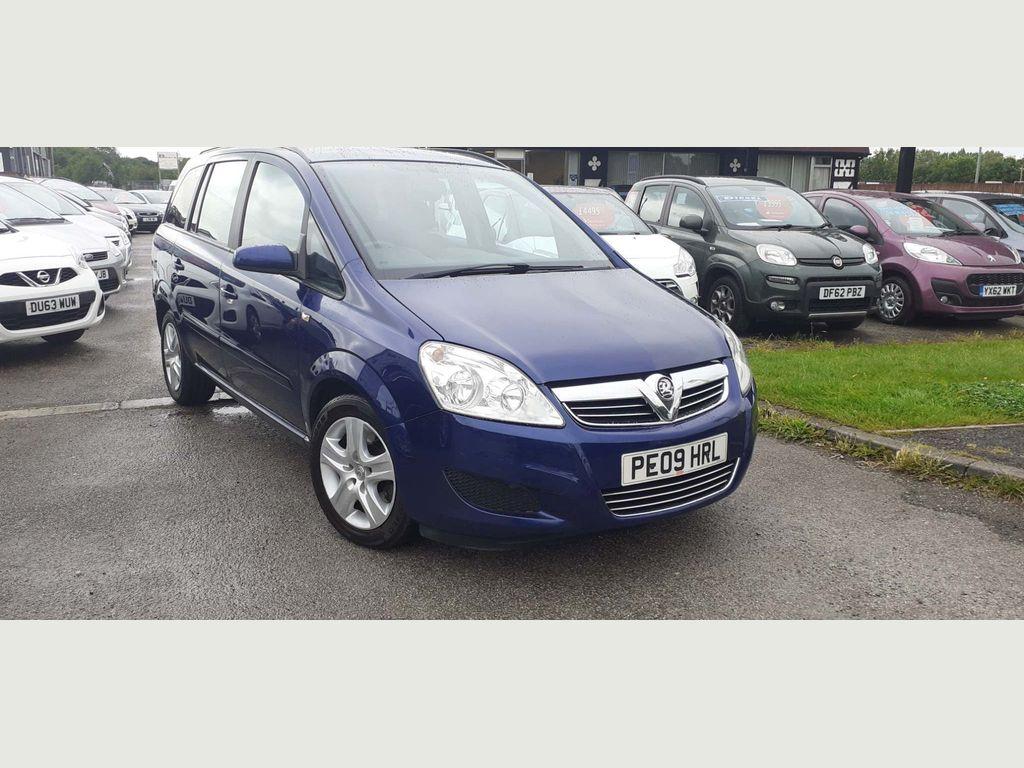 Vauxhall Zafira MPV 1.9 CDTi Exclusiv 5dr